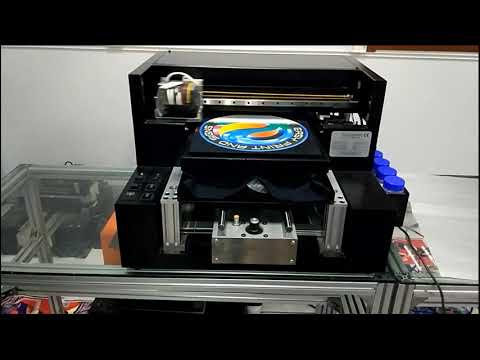 GNFEI A3 Size DTG T-Shirt Printer Digital Textile Printing Machine Garment Printer