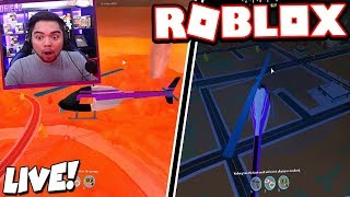 *LIVE REACTION* VOLCANO ERUPTION & CITY REVAMP!!! *NEW* (Roblox Jailbreak)