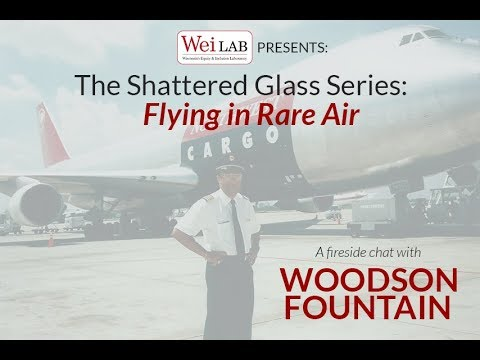 The Shattered Glass Series: A Fireside Chat with Woodson Fountain
