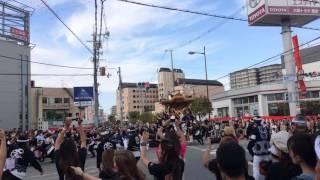 2016年10月9日鳳ウイングス前パレードやりまわしです。