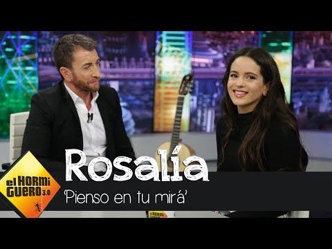 """Rosalía sobre 'Pienso en tu mirá': """"Los celos nunca son buenos, son miedos"""" - El Hormiguero 3.0"""
