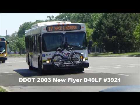 DDOT 2003 New Flyer D40LF #3921 on-board recording (RETIRED)