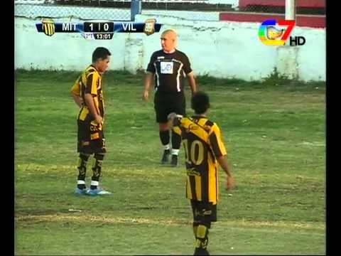 Segundo gol de Villafañe - Final Torneo Anual Mitre vs Villa Unión