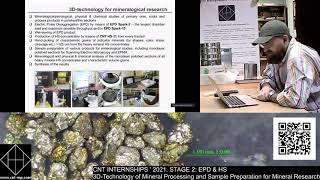 CNT INTERNSHIPS ' 2021. STAGE 2: EPD & HS 3D-Technology of Mineral Processing and Sample Preparation