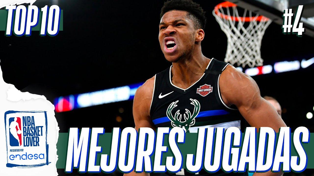 TOP 10 JUGADAS DE LA SEMANA #4 | #NBABasketLover