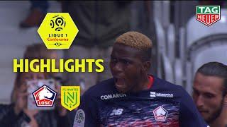 LOSC - FC Nantes ( 2-1 ) - Highlights - (LOSC - FCN) / 2019-20