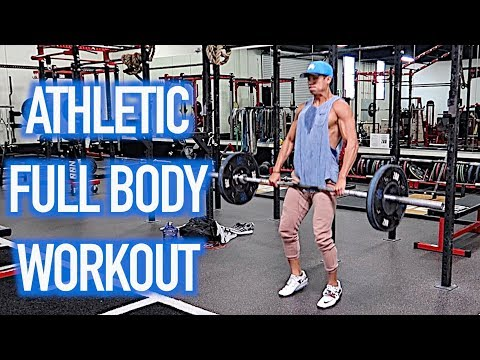 ATHLETIC FULL BODY WORKOUT!