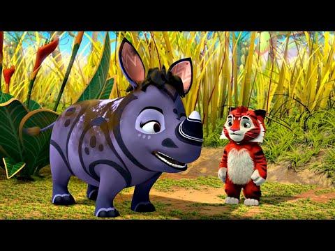 🐾 Лео и Тиг 🐾 сборник серий с 40 по 42 | Детям про животных 🐱| Мультфильм HD
