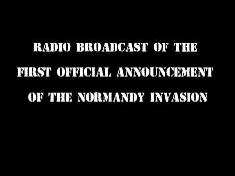 Audio of SHAEF Communique No. 1