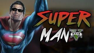 GTA 5 Mod - SUPERMAN !! - Momen Lucu GTA 5