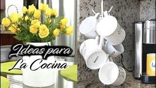 IDEAS PARA DECORAR UNA COCINA EN PRIMAVERA 2019/DECORACION DIY/DECORA TU COCINA