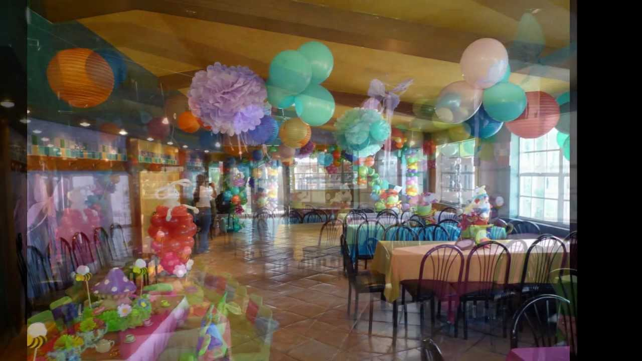 Outdoor And Indoor Alice In Wonderland Balloon Decoration. DreamARK Events    YouTube