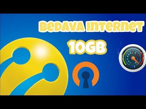 TÜRKCELL OPENVPN BEDAVA İNTERNET 10 GB DEHŞET HIZ!! %100