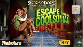 Flashok ru: видео обзор онлайн флеш игры Scooby-Doo 2 Monsters Unleashed Escape From The Coolsonian.