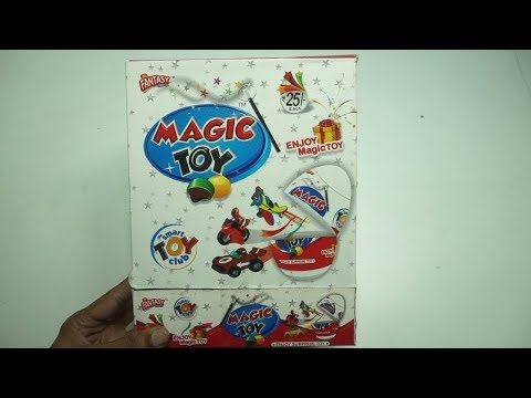 Box Of Magic Toy With Surprise Toy Inside
