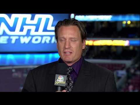 Jeremy Roenick Cries After Stanley Cup Finals (HD)
