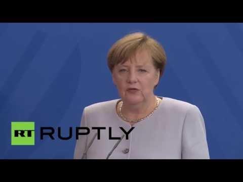 Germany: Merkel and Kern discuss