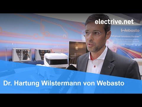 Dr. Hartung Wilstermann über Batteriesysteme Von Webasto