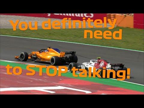 Best Of Team Radio   2018 Spanish Grand Prix