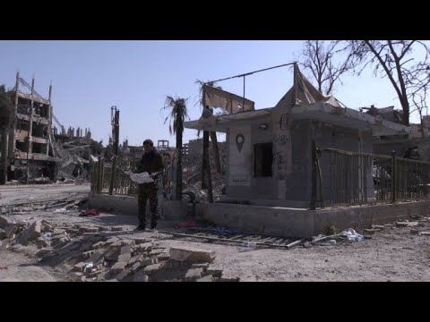 AFP news agency: In ravaged Raqa, traces of IS group's propaganda and cruelty