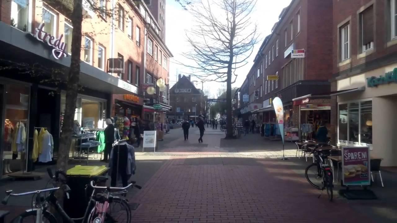 Coesfeld (Germany) Pedestrian area 17 April 2015