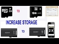 HOW TO DOUBLE YOUR STORAGE OF A PENDRIVE OR SD CARD | HINDI