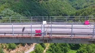 PONTE Celico - Italy  NEXT BRIDGE TO COLLAPSE?