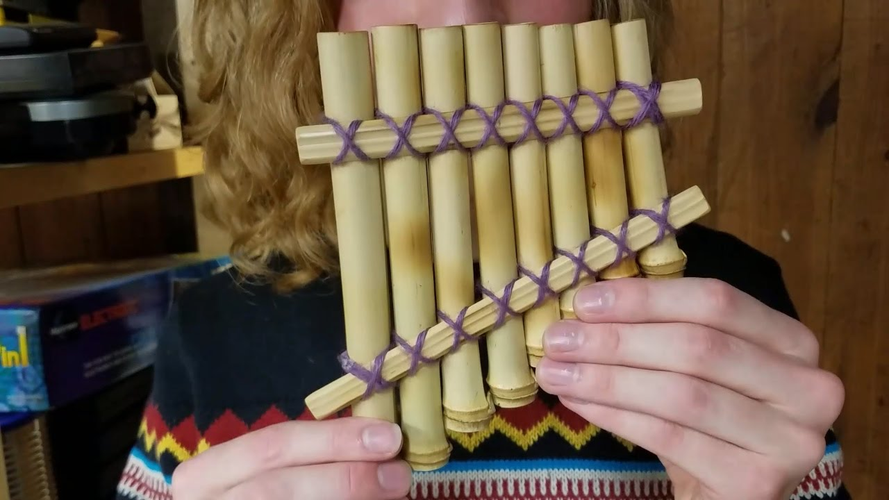 Sometimes You Only Have 2 Hours To Make A Pan Flute Doovi