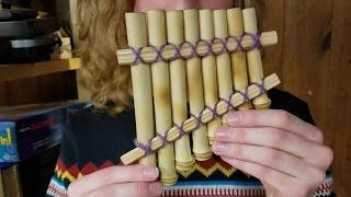 Sometimes You Only Have 2 Hours to Make a Pan Flute