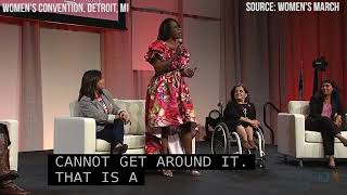 Senator Nina Turner TURNS UP at The Women's Convention in Detroit