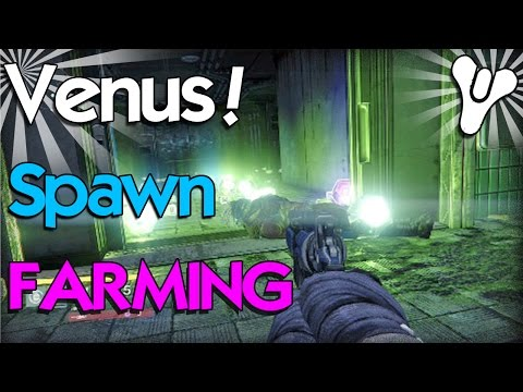Destiny: Venus Spawn Farming Trap! (Really Fast Engrams)