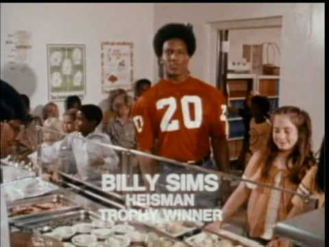 Billy Sims School Lunch