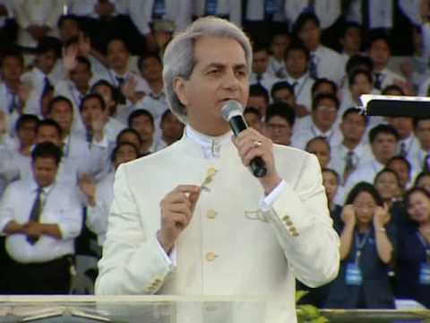 "Benny Hinn sings ""EL SHADDAI"" (with lyrics)"
