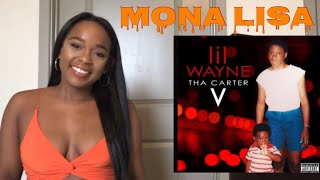 LIL WAYNE FT. KENDRICK LAMAR (CARTER 5) MONA LISA REACTION (LYRIC BREAKDOWN)