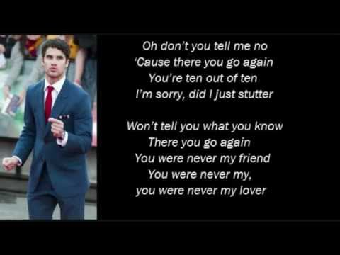 Stutter - Darren Criss Lyrics