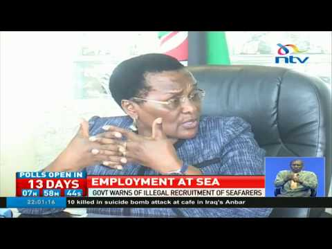 Government warns of illegal recruitment of seafarers