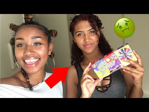 HILARIOUS EXTREME BEAN BOOZLED CHALLENGE GONE WRONG! (SHE THROWS UP)