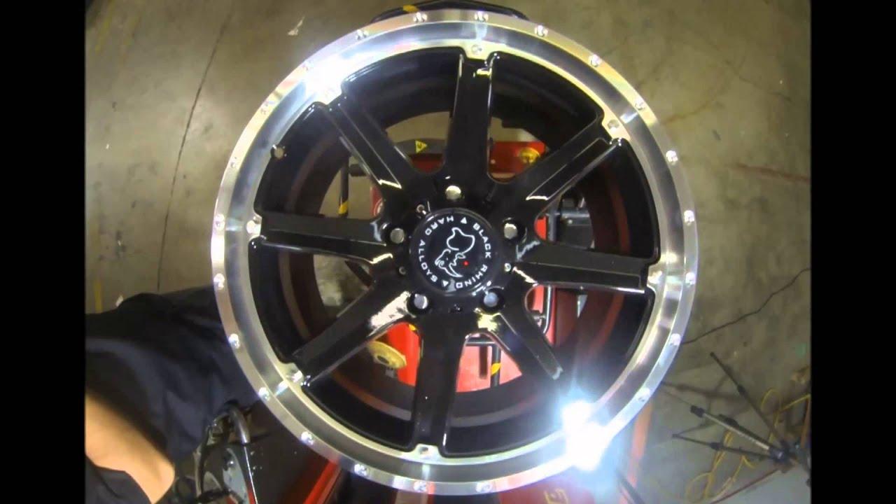 Rims And Tires Canada >> Black Rhino Wheels Moab Black Machined - YouTube