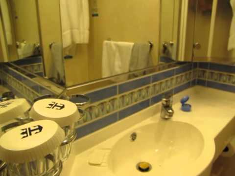 Tour of an INSIDE cabin aboard Royal Caribbean's Explorer of The Seas -CABIN #7487