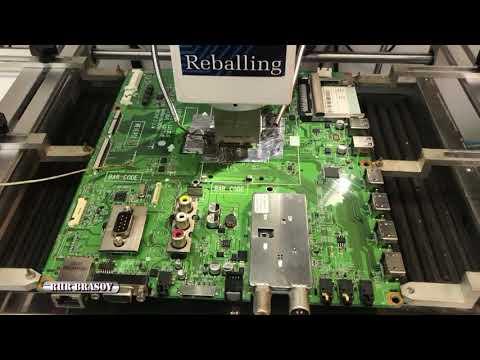 Reballing procesor tv LG 3LV570S   ZB mainboard EAX64104702(1)