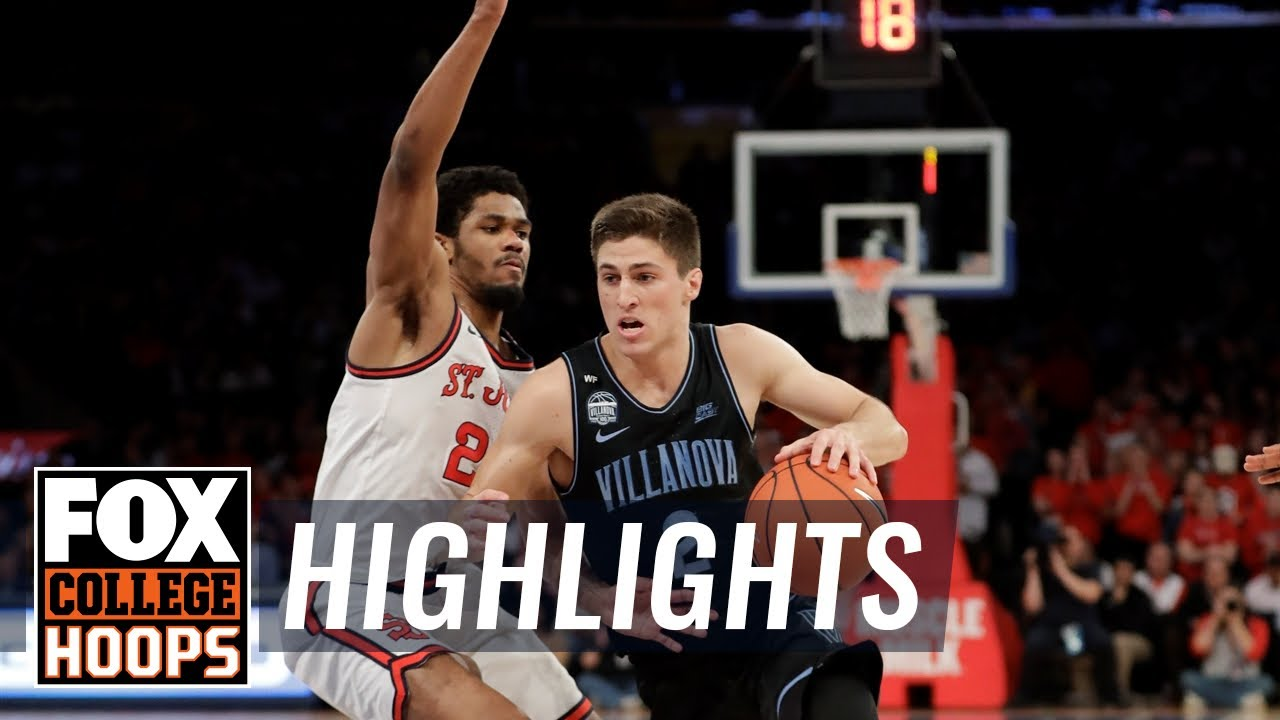 No. 8 Villanova cruises past St. John's for 7th straight win, 79-59 | FOX COLLEGE HOOPS HIGHLIGHTS