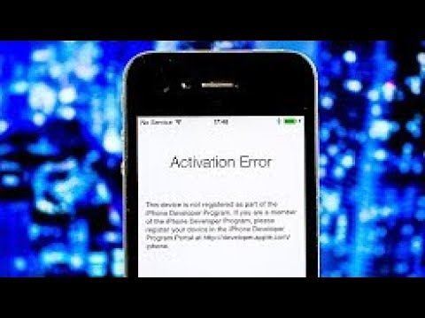 ipad activation server down