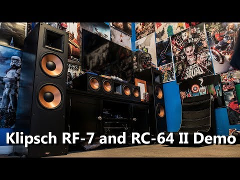 Klipsch RF 7 and RC 64 II Review and Furious 8 Demo