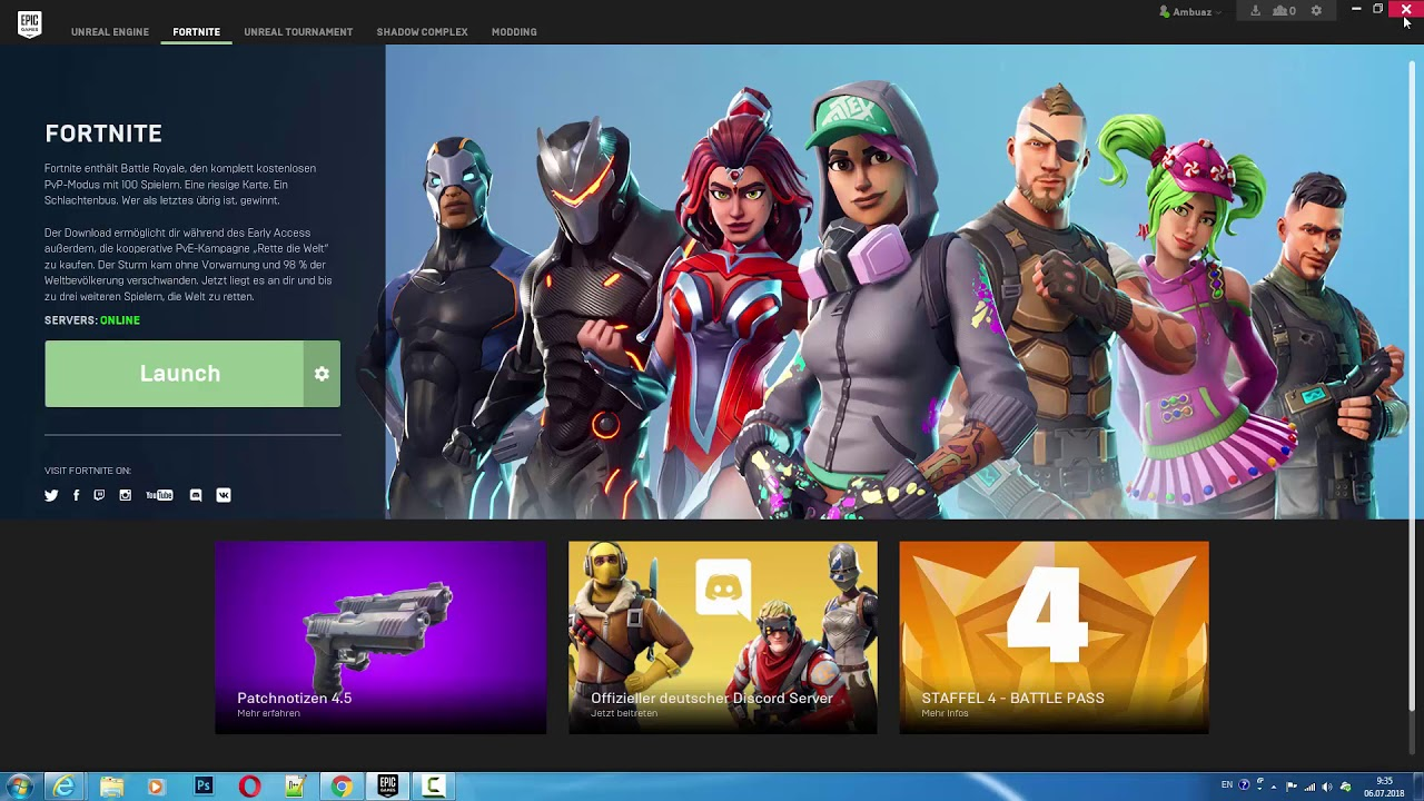 Fortnite: How to Change Epic Games Launcher Language - YouTube