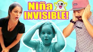 BROMA Niña SE VUELVE INVISIBLE! Reto Se Desaparece ft MIA y El PIPI - Prank Challenge SandraCiresArt