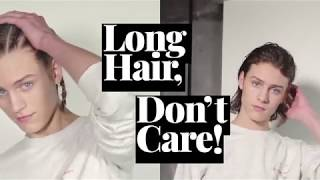 15 ways for guys to wear long hair in the summer (and all year long)