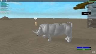 AFRICAN animals in roblox