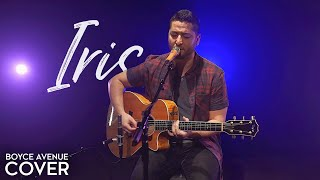 Iris Goo Goo Dolls Boyce Avenue acoustic cover on Spotify Apple