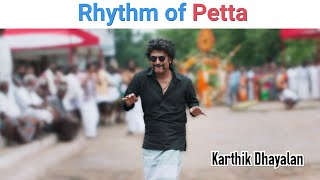 Rhythm Of Petta - Petta BGM | RajiniFied