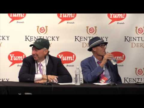 Nyquist owners, trainer and jockey talk after wins the Kentucky Derby